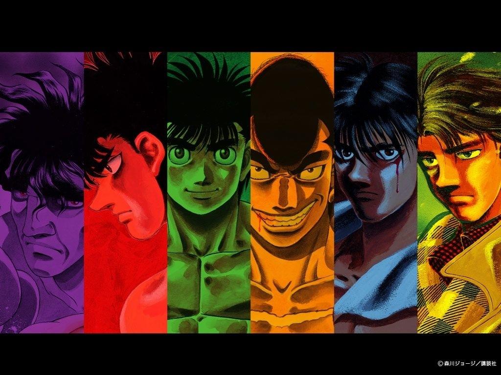 anime iz life: my top five anime: #4 hajime no ippo(fighting spirit