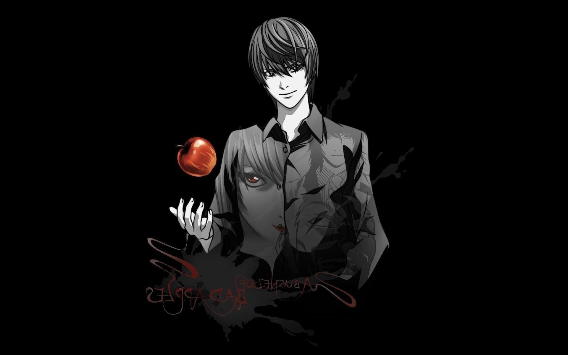 anime kira death note apple death note light kira,. android