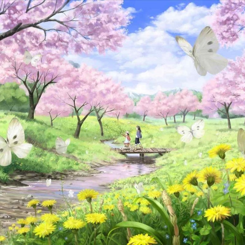 10 Best Spring Scenery Wallpaper Widescreen FULL HD 1080p For PC Background 2021 free download anime spring scenery wallpaper siudy 800x800