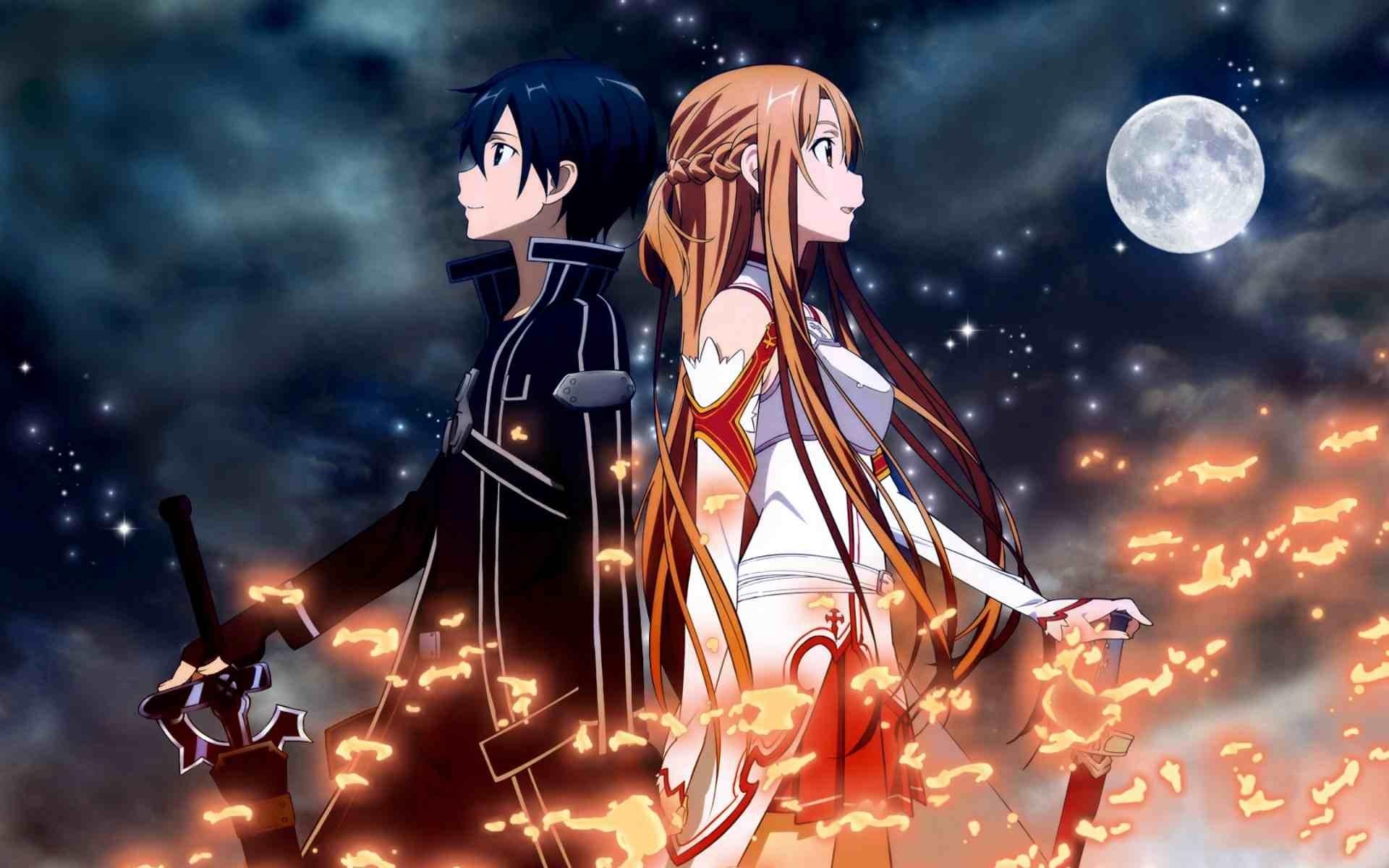 anime sword art online wallpapers (desktop, phone, tablet) - awesome