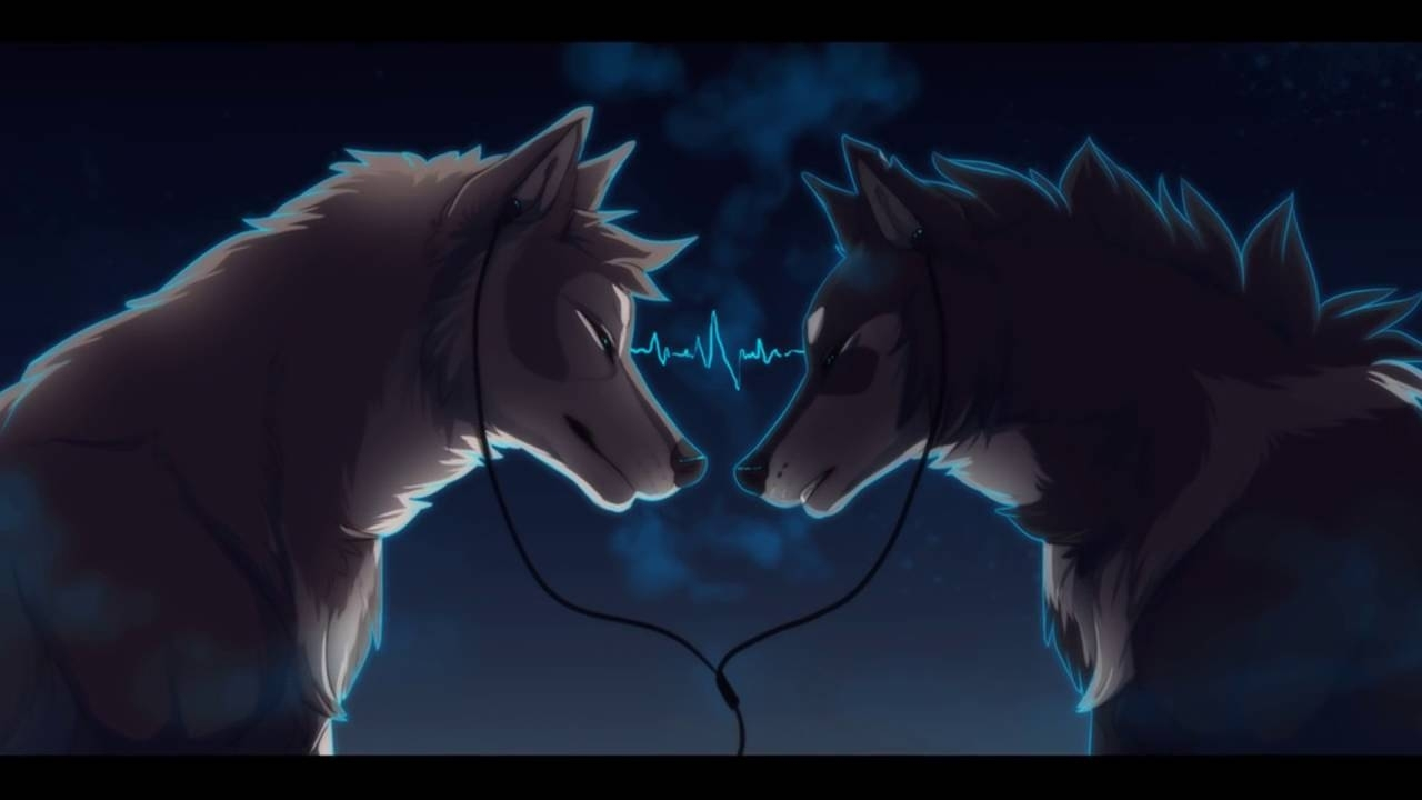 anime wolves stereo heart - youtube