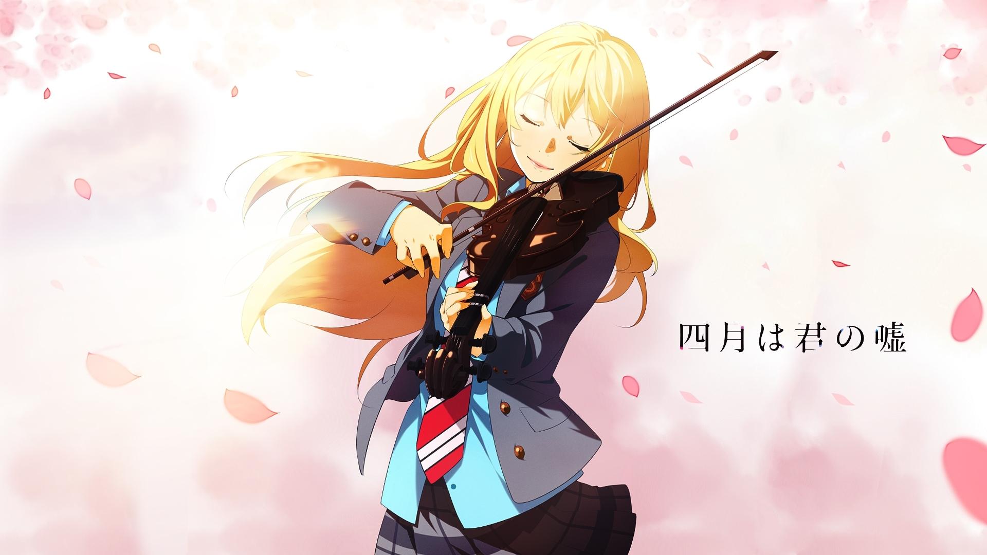 anime your lie in april kaori miyazono wallpaper | shigatsu wa kimi