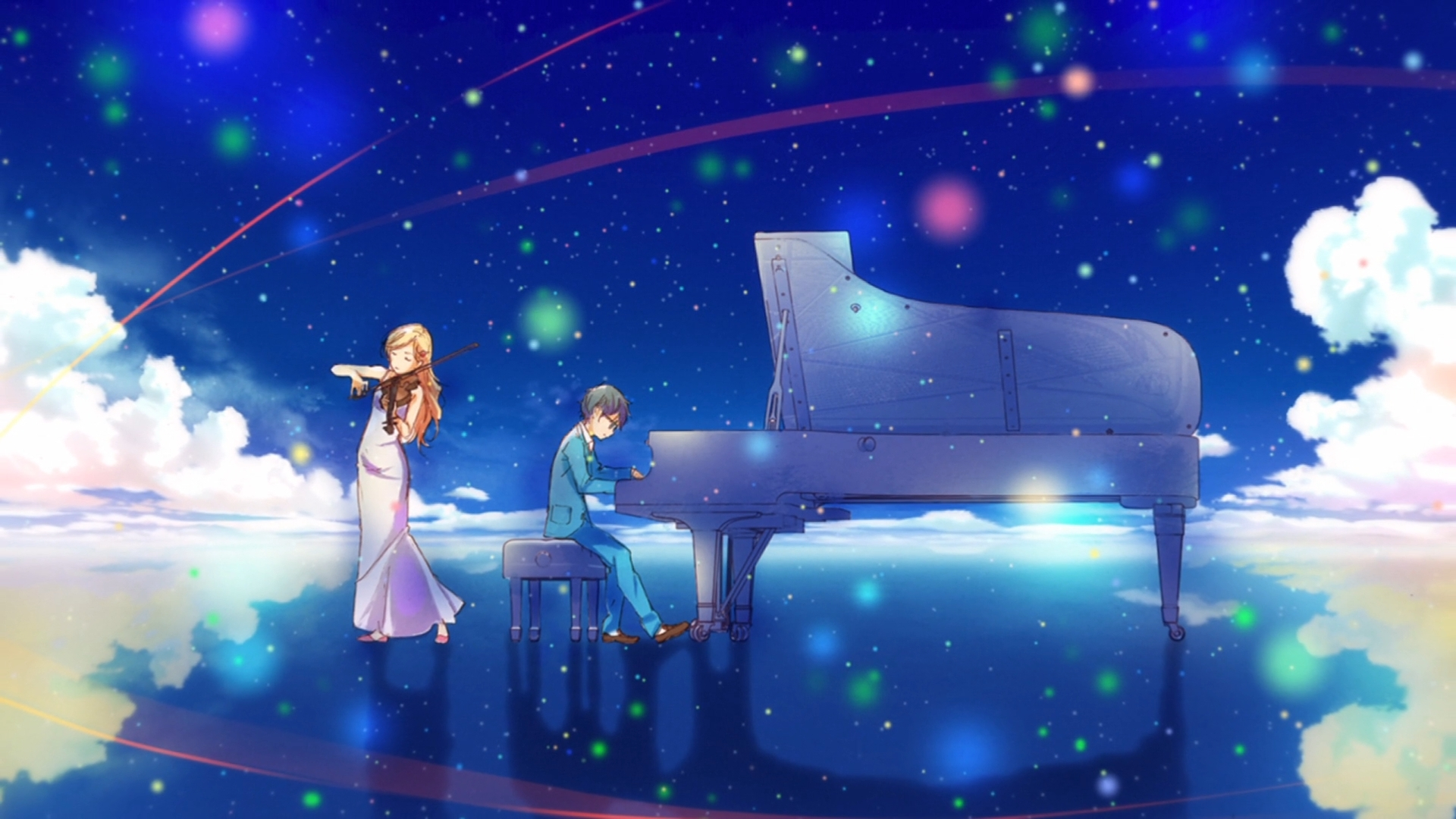 anime your lie in april wallpapers (desktop, phone, tablet