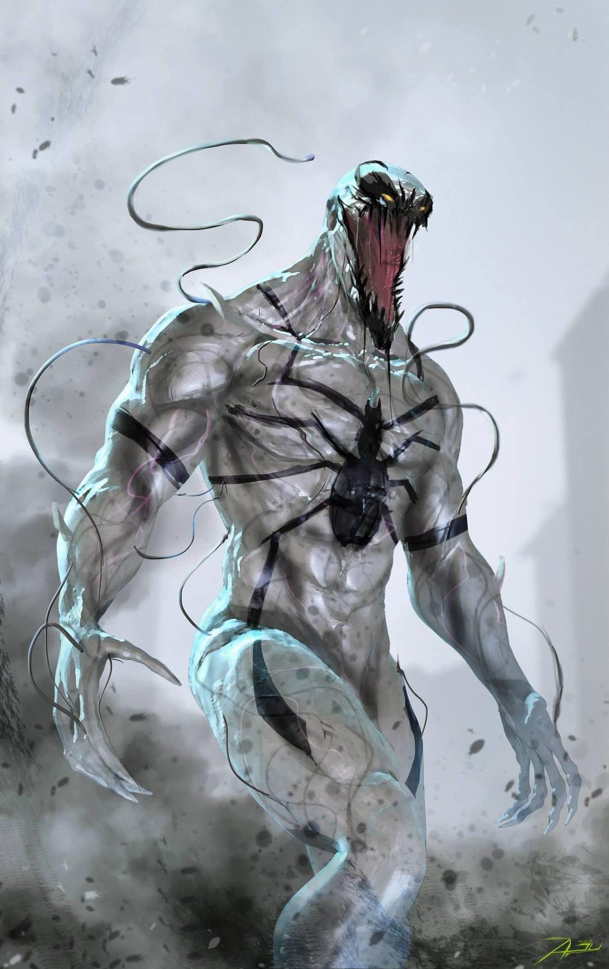 anti-venom -adan ali | #comics #marvel #antivenom | marvel universe