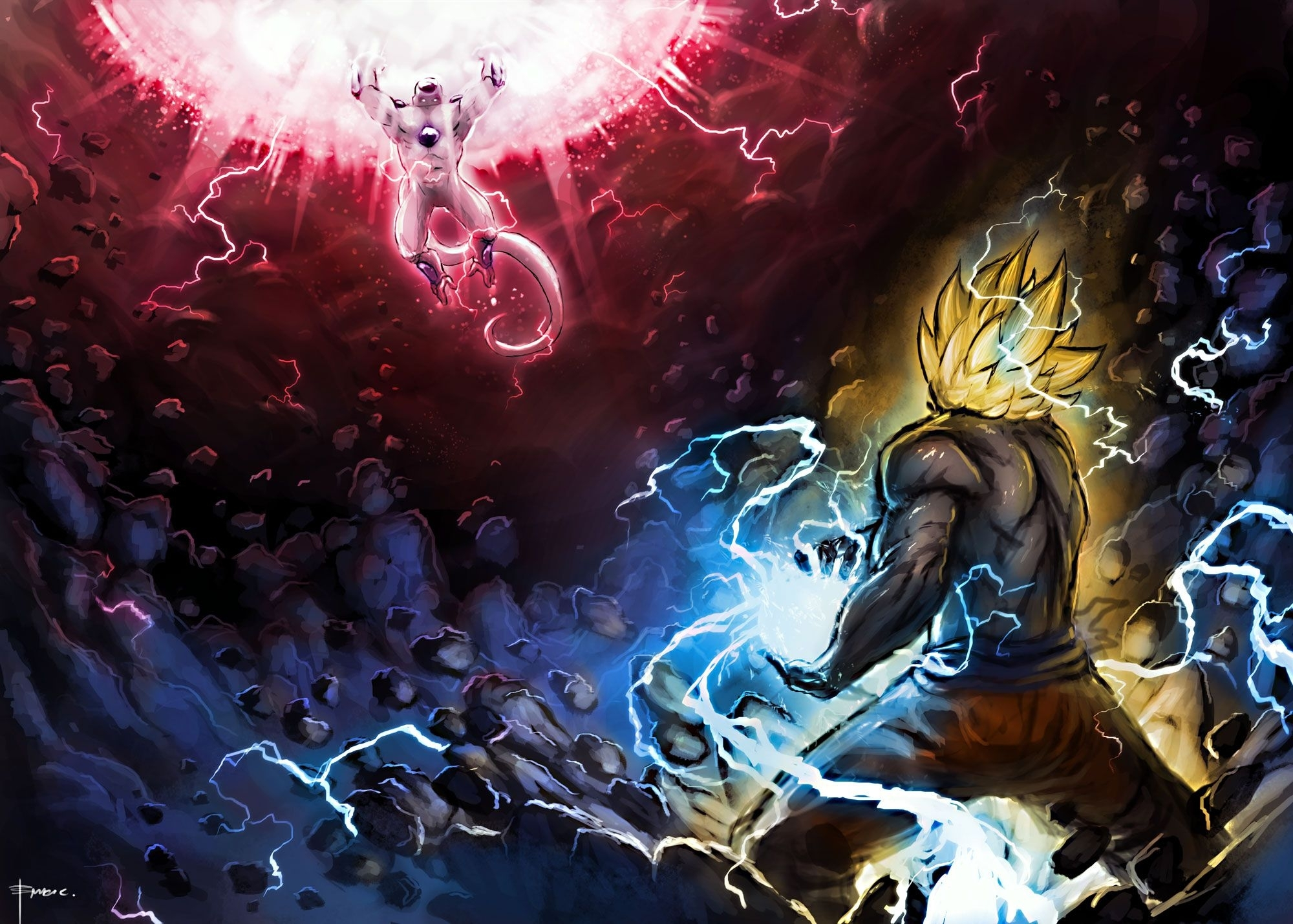 aqansari : page 16 : dragon ball z wallpaper all characters