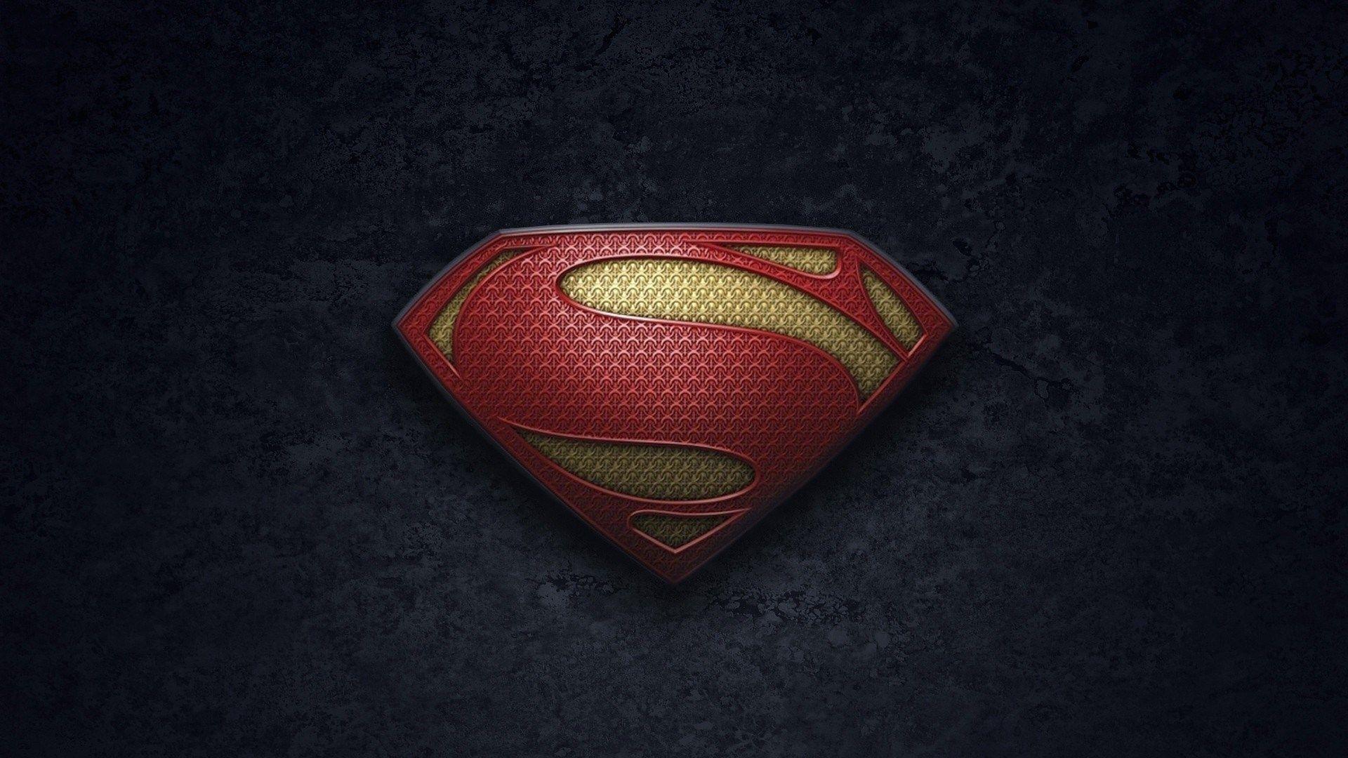 art superman man of steel logo hd wallpaper | cool wallpapers