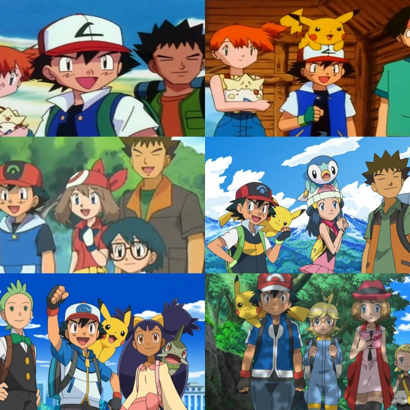 10 Most Popular Ash's Pokemon Group Photo FULL HD 1080p For PC Background 2020 free download ash and friends pokemon know your meme 800x800