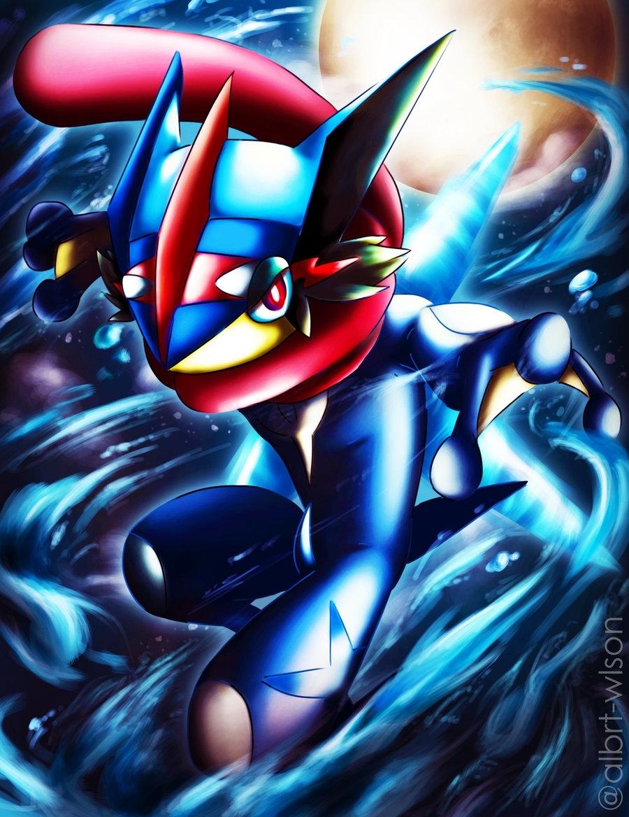 ash-greninjaalbrt-wlson on deviantart   pokémon <3 part.3
