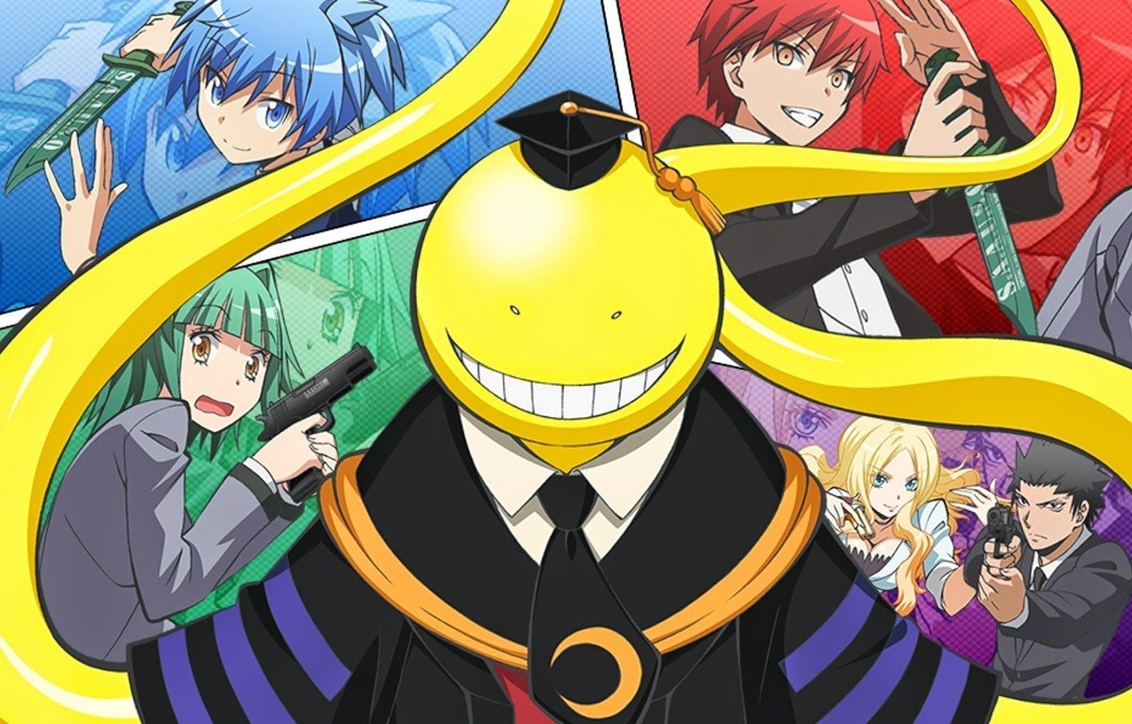 assassination classroom wallpapers - wallpaper cave