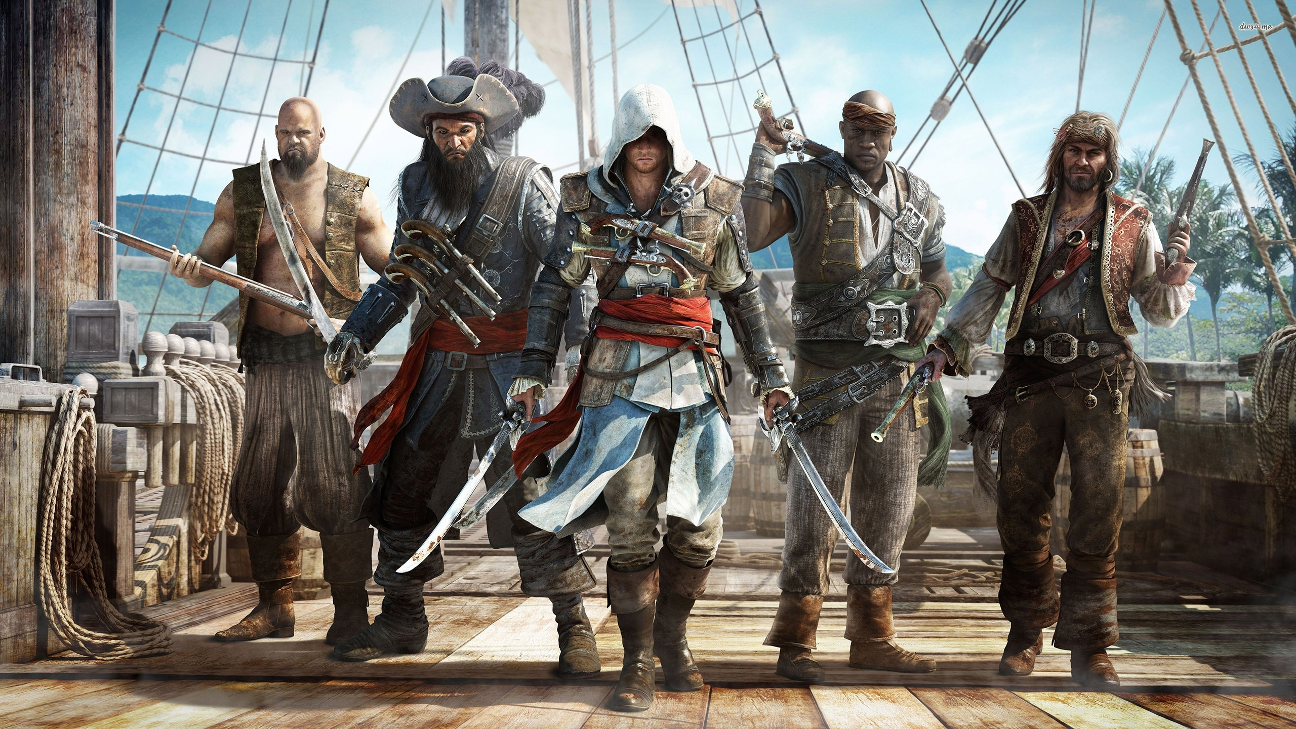 assassins creed blackflag full hd wallpaper and background image