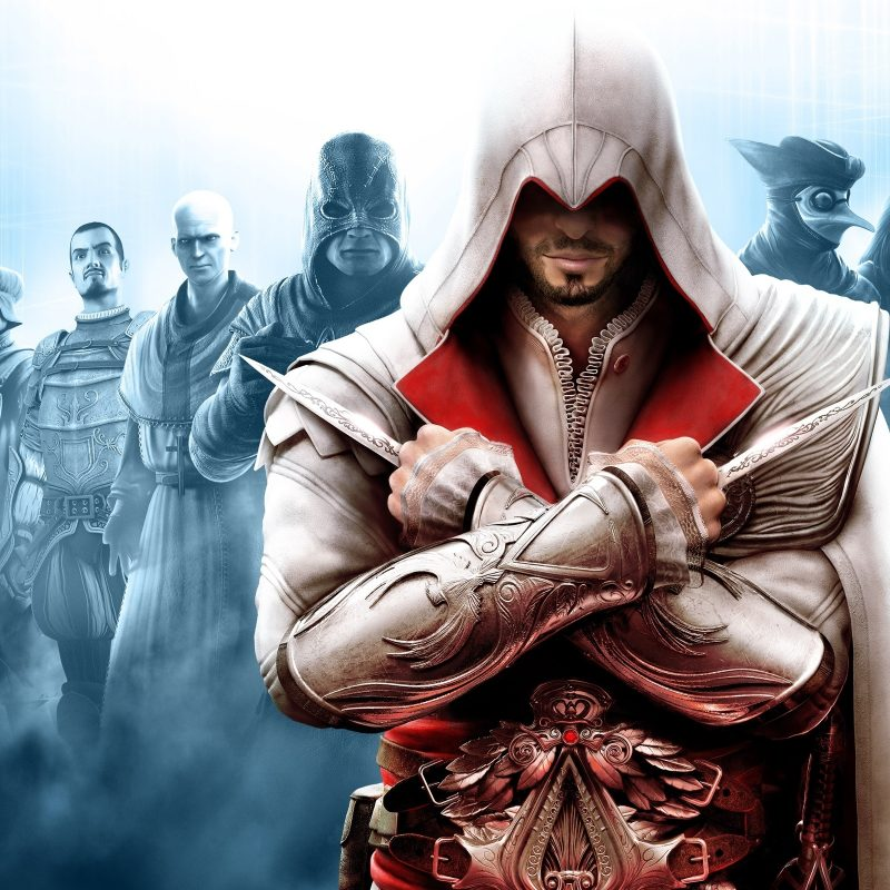 10 Best Assassin's Creed Ezio Wallpaper FULL HD 1080p For PC Background 2018 free download assassins creed brotherhood full hd fond decran and arriere plan 800x800