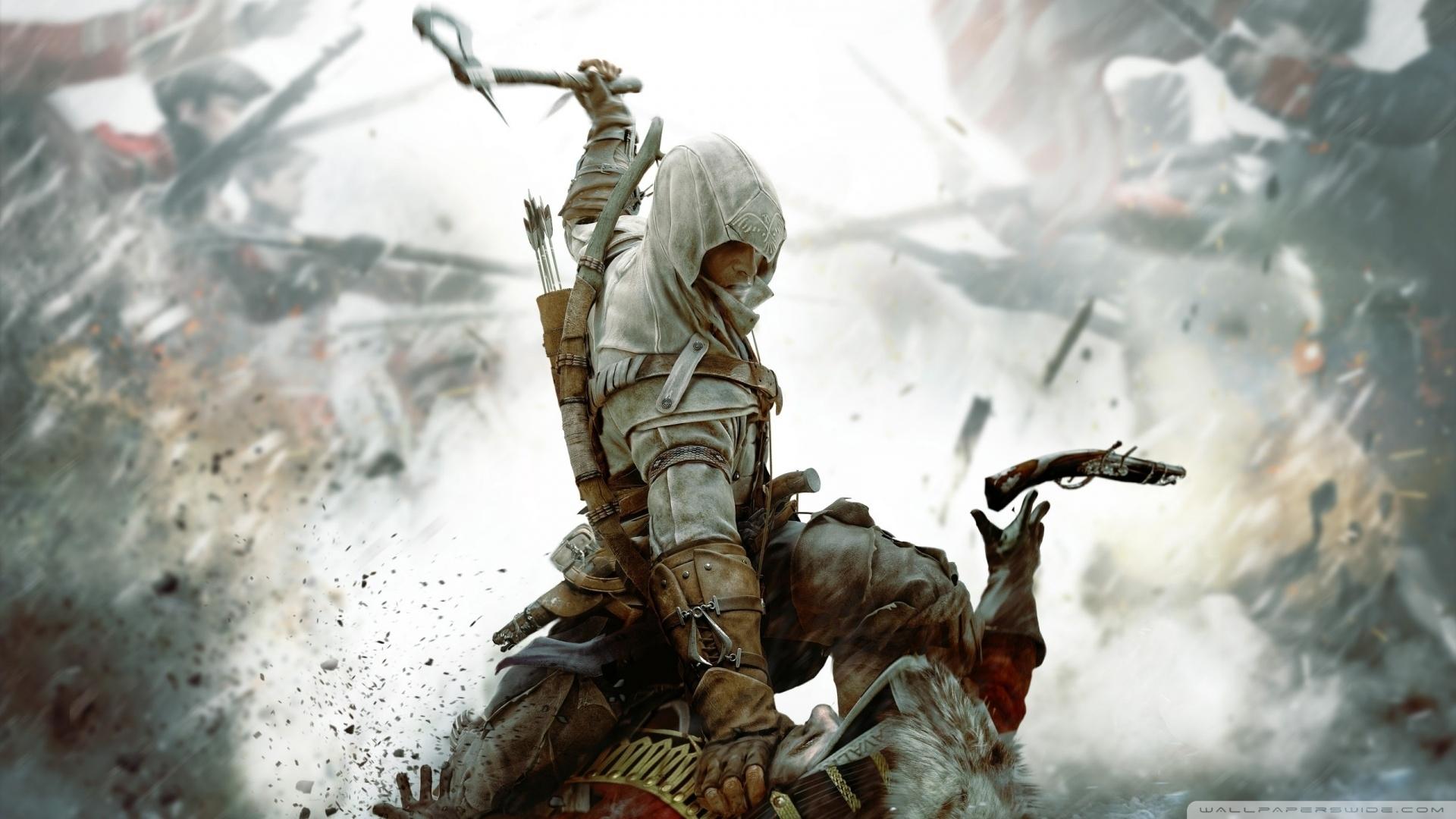 assassins creed iii ❤ 4k hd desktop wallpaper for 4k ultra hd tv
