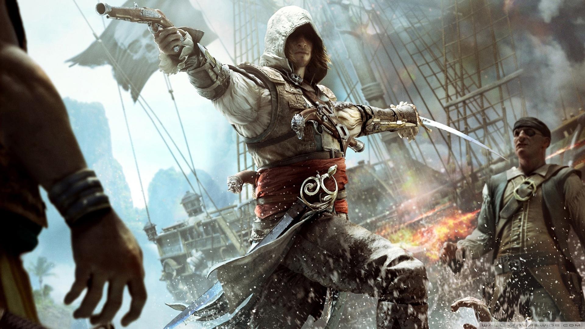 assassin's creed iv black flag edward kenway ❤ 4k hd desktop