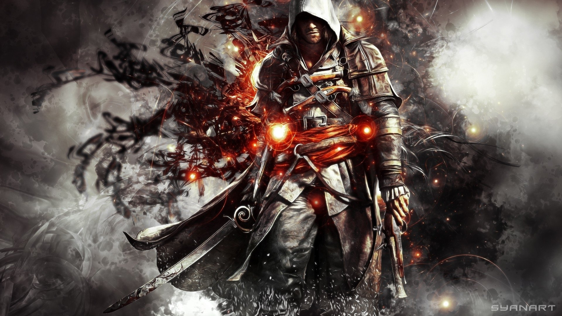 assassin's creed iv: black flag full hd fond d'écran and arrière