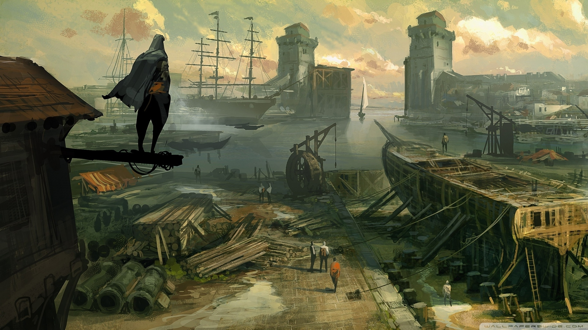 assassins creed revelations concept art-wallpaper-1920x1080 - 10 000