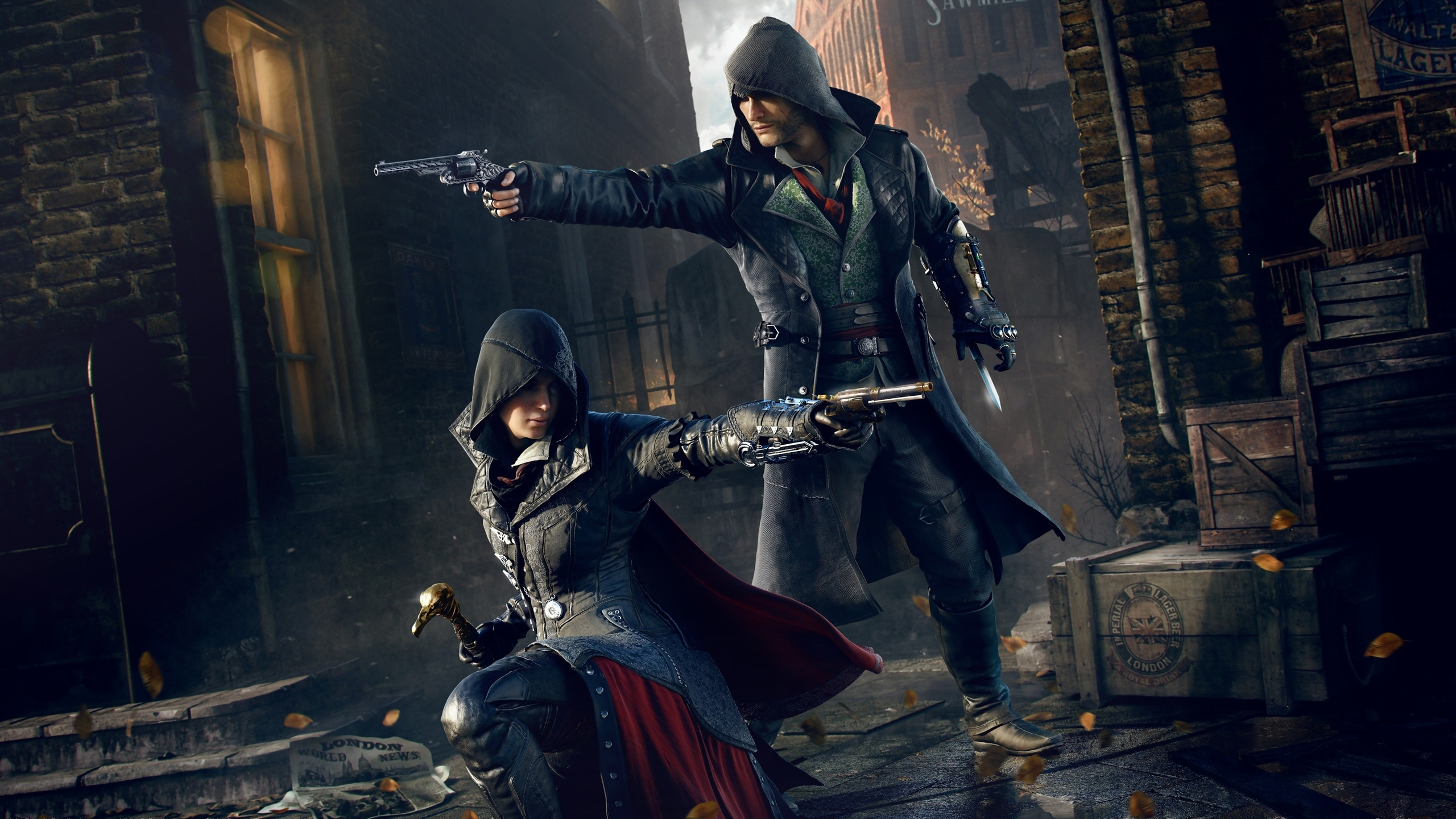 assassin's creed: syndicate full hd fond d'écran and arrière-plan