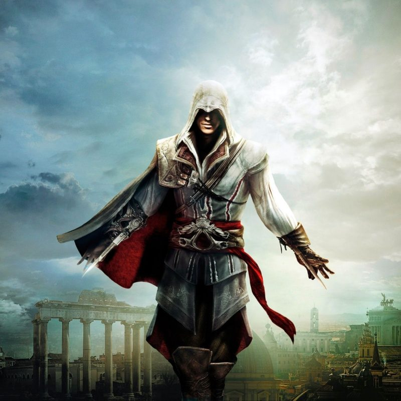 10 Best Assassin's Creed Ezio Wallpaper FULL HD 1080p For PC Background 2018 free download assassins creed the ezio collection wallpaper 10440 baltana 800x800