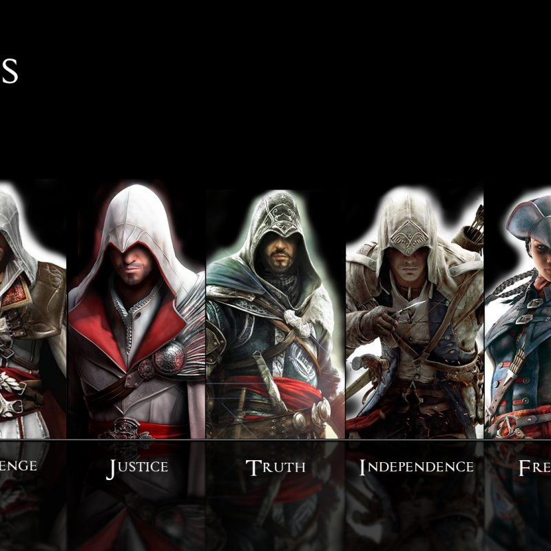 10 Top Awesome Assassins Creed Wallpapers FULL HD 1920×1080 For PC Background 2020 free download assassins creed wallpapers all assassins group 85 800x800