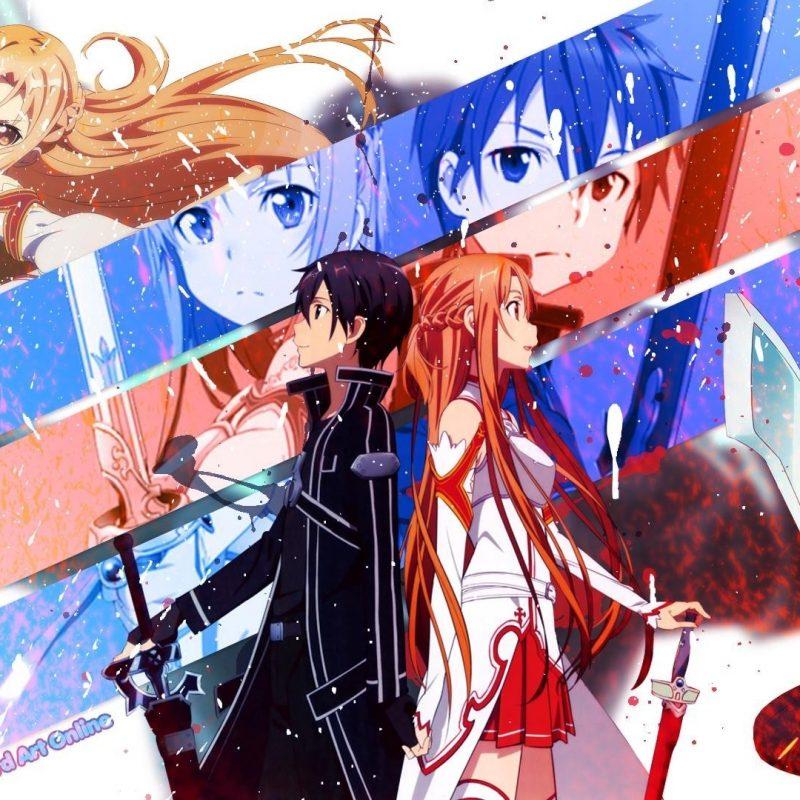 10 Top Kirito And Asuna Wallpaper FULL HD 1080p For PC Background 2021 free download asuna and kirito background wallpaper 24142 baltana 800x800