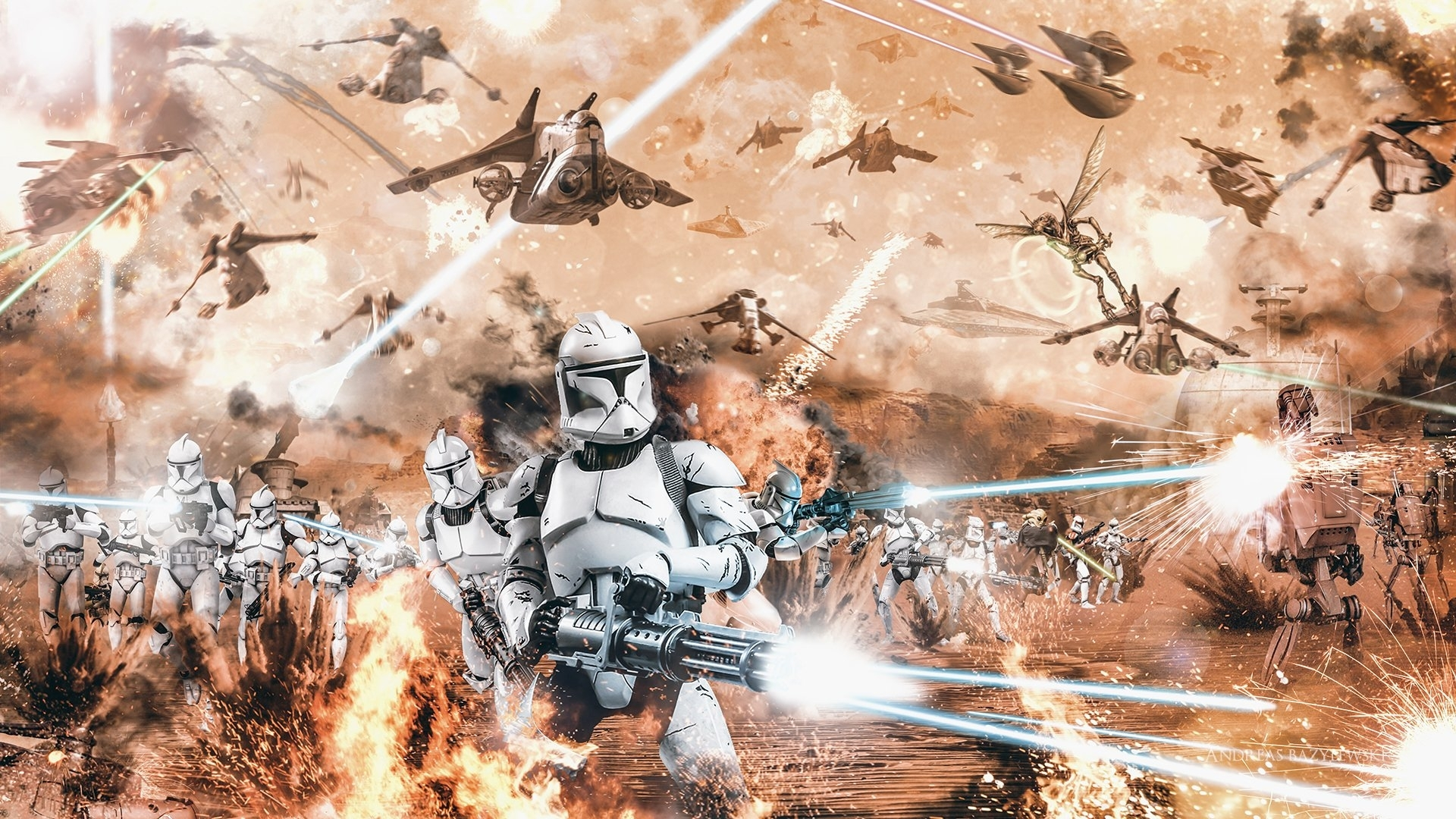 attack of the clones full hd fond d'écran and arrière-plan