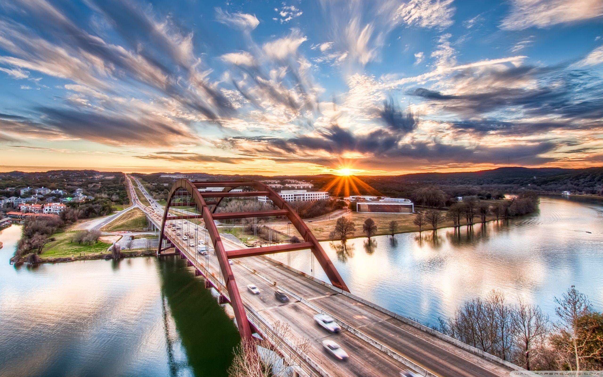 austin texas wallpaper | travel | austin tx, bridge wallpaper