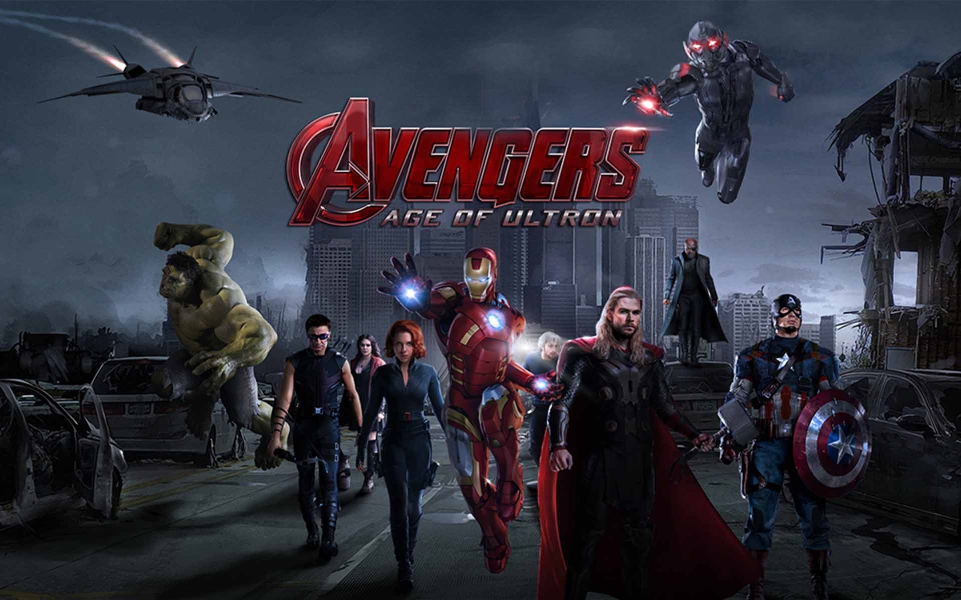 avengers: age of ultron hd desktop wallpapers | 7wallpapers