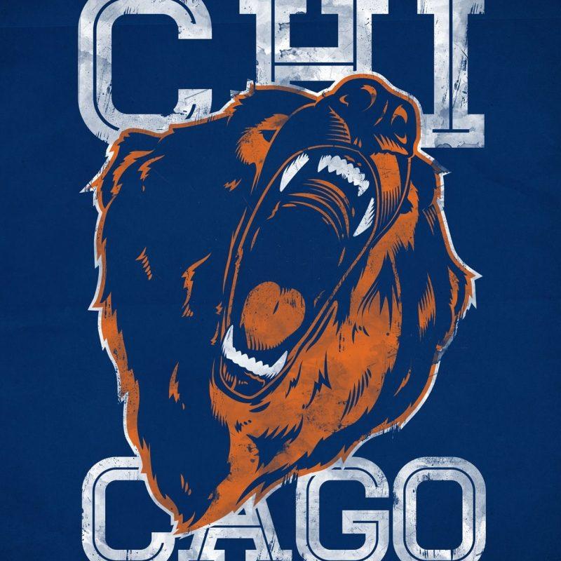 10 Best Cool Chicago Bears Logo FULL HD 1920×1080 For PC Desktop 2020 free download awesome chicago bears illustration bears forever pinterest 800x800
