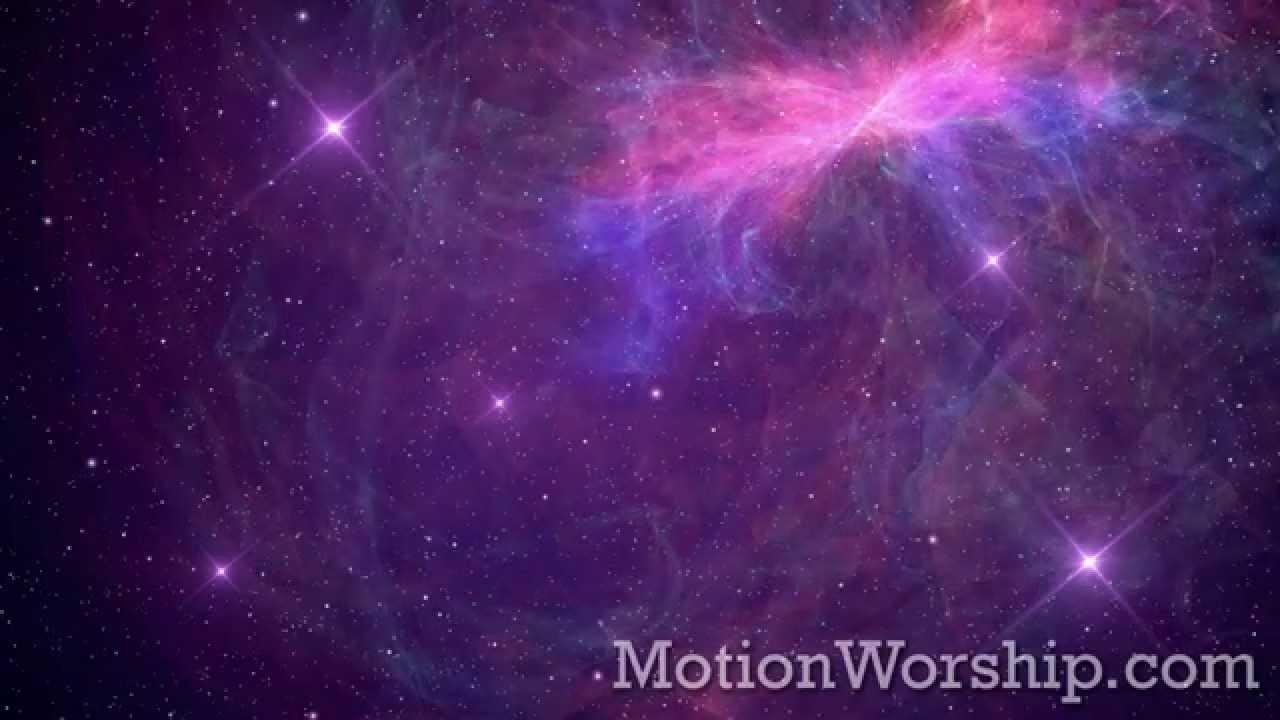 awesome galaxy purple pink hd loopmotion worship - youtube