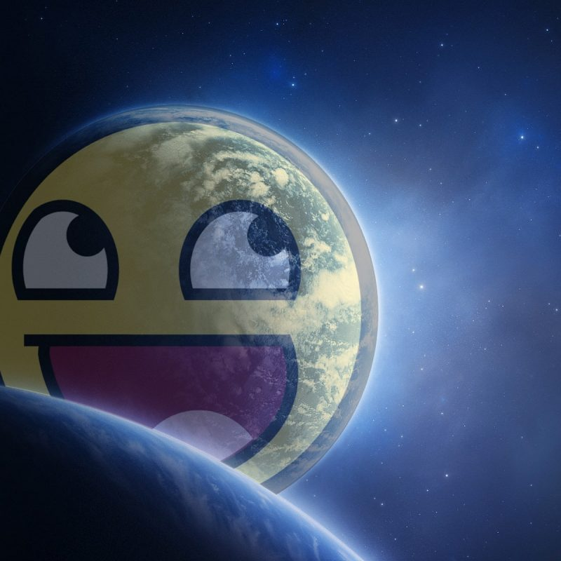 10 Latest Awesome Smiley Face Space FULL HD 1080p For PC Desktop 2021 free download awesome planetwingedturt1e on deviantart 800x800