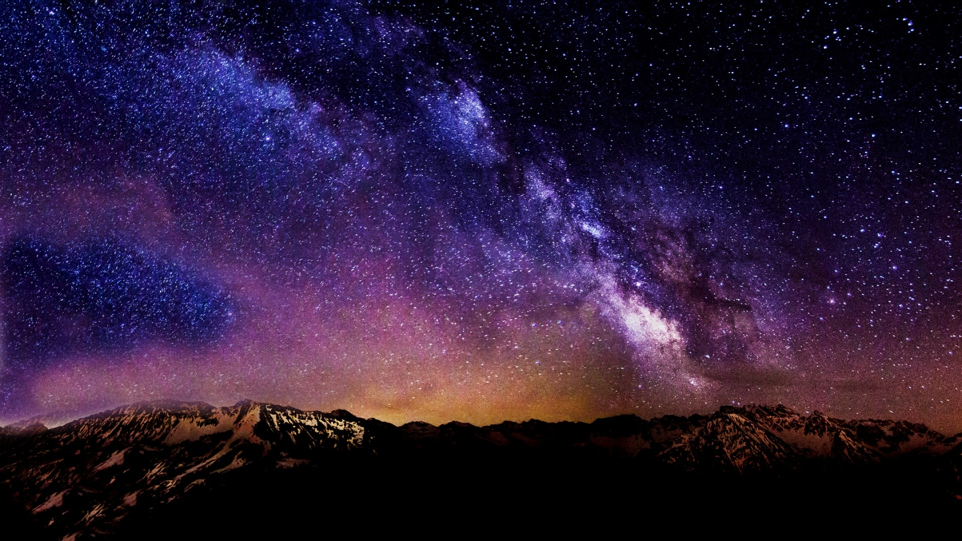 awesome starry night sky wallpaper high quality desktop hd