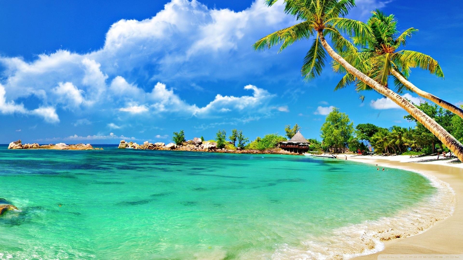 awesome tropical beach ❤ 4k hd desktop wallpaper for 4k ultra hd tv