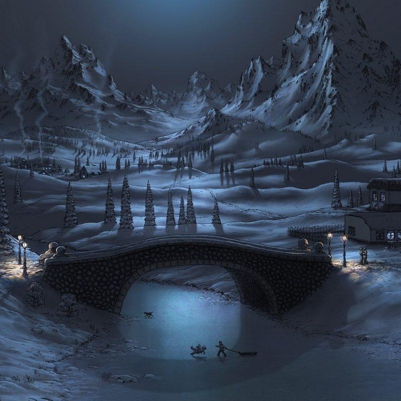 10 Top Winter Night Wallpaper Hd FULL HD 1080p For PC Desktop 2020 free download %name
