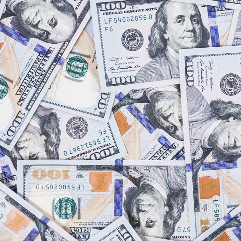 10 New 100 Dollar Bills Background FULL HD 1080p For PC Background 2020 free download background with money american hundred dollar bills rotate raw 1 800x800