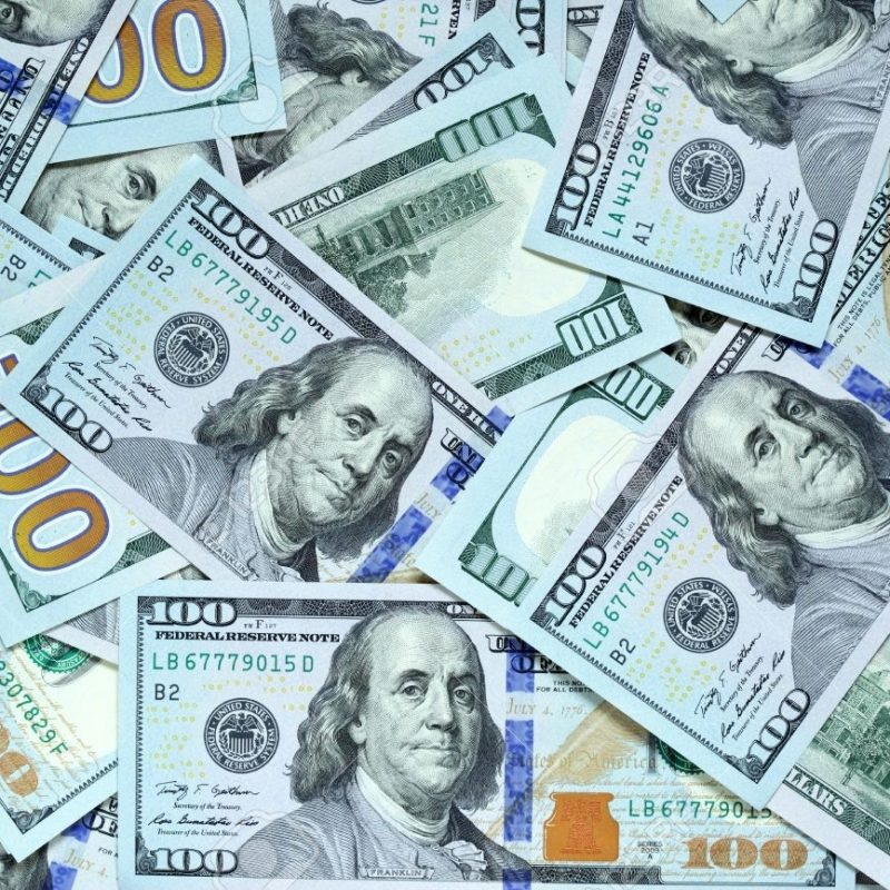 10 New 100 Dollar Bills Background FULL HD 1080p For PC Background 2020 free download background with new hundred dollar bills stock photo picture and 800x800
