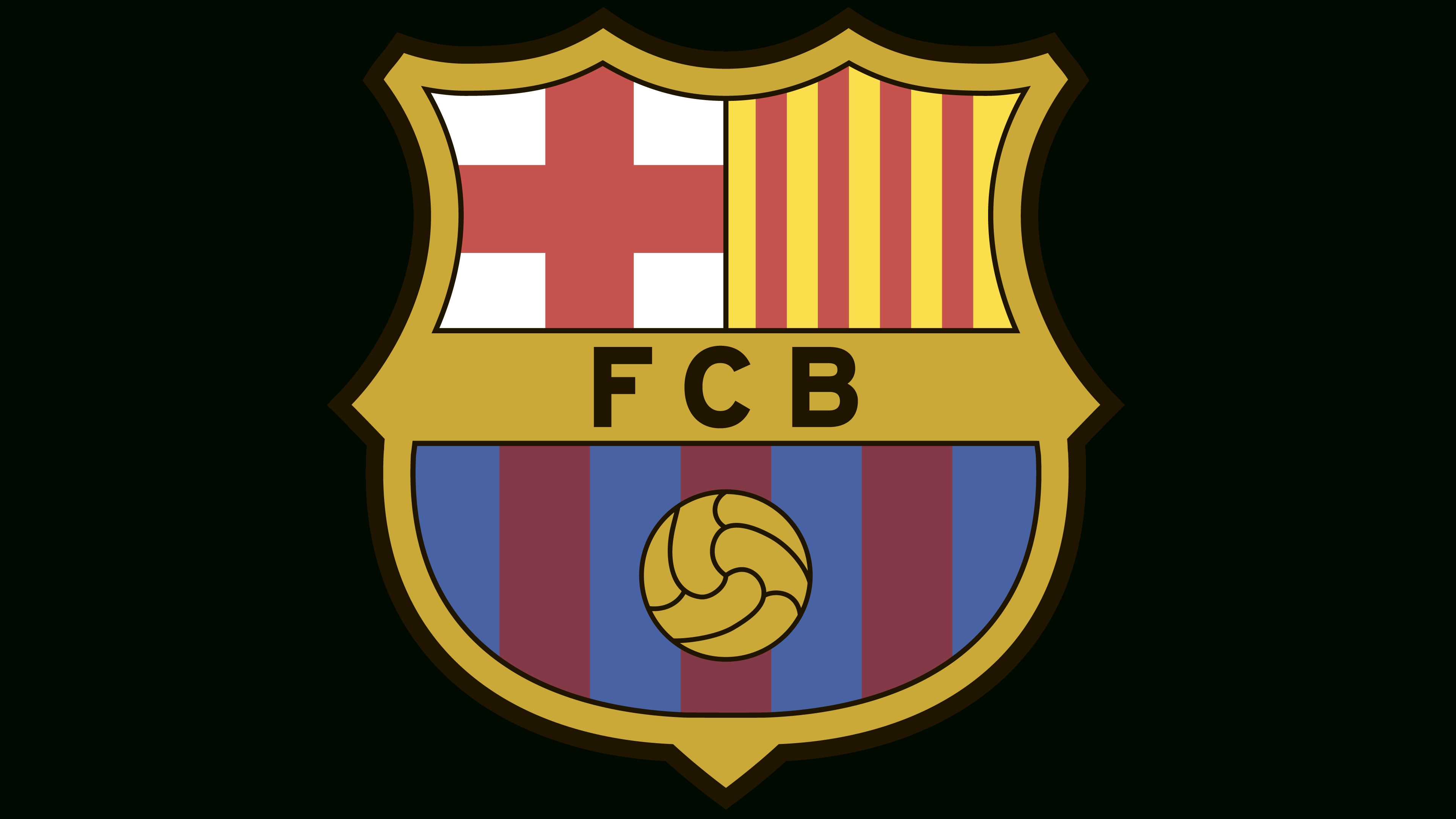 barcelona logo history, emblem, vector. meaning and origin logo