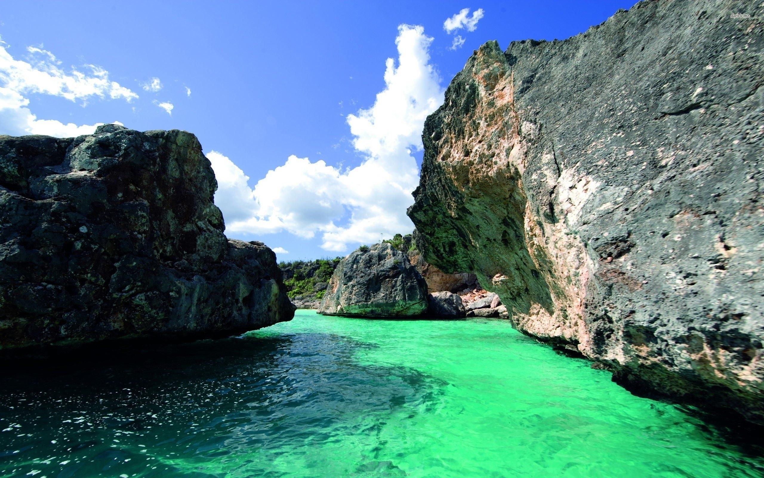 bay in the dominican republic - walldevil