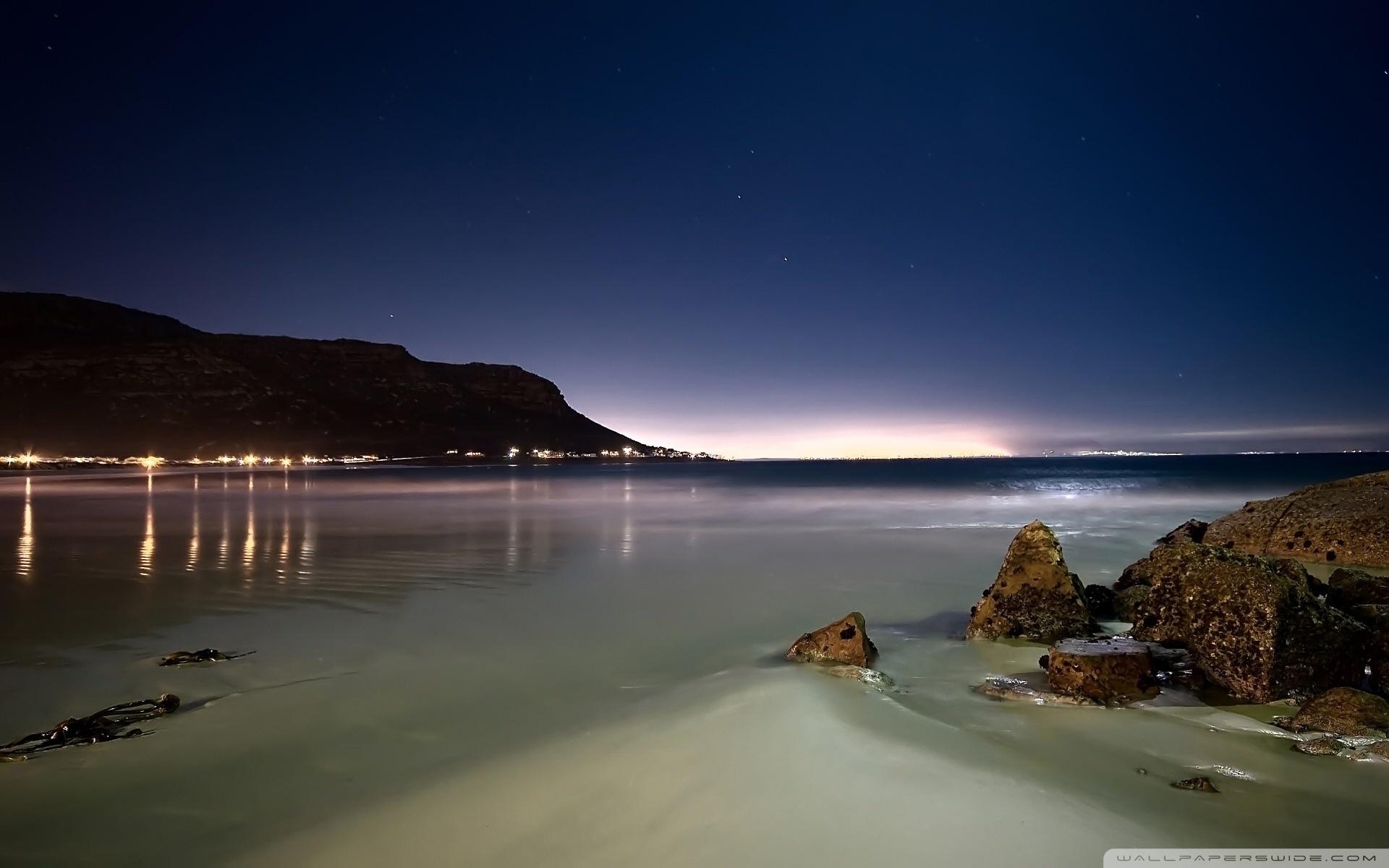 beach at night ❤ 4k hd desktop wallpaper for 4k ultra hd tv