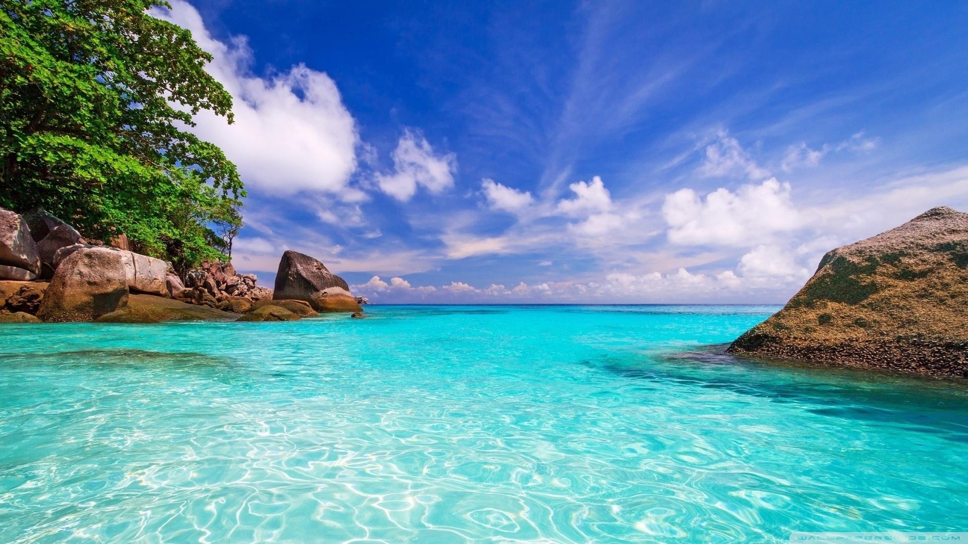 beach day ❤ 4k hd desktop wallpaper for 4k ultra hd tv • dual