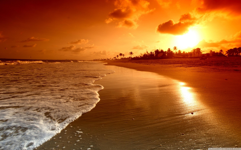 beach sunrise ❤ 4k hd desktop wallpaper for 4k ultra hd tv • wide