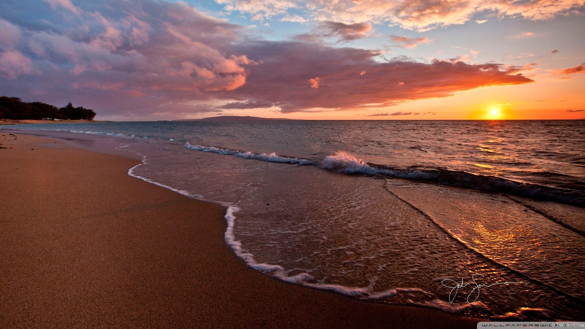 beach - sunset ❤ 4k hd desktop wallpaper for 4k ultra hd tv