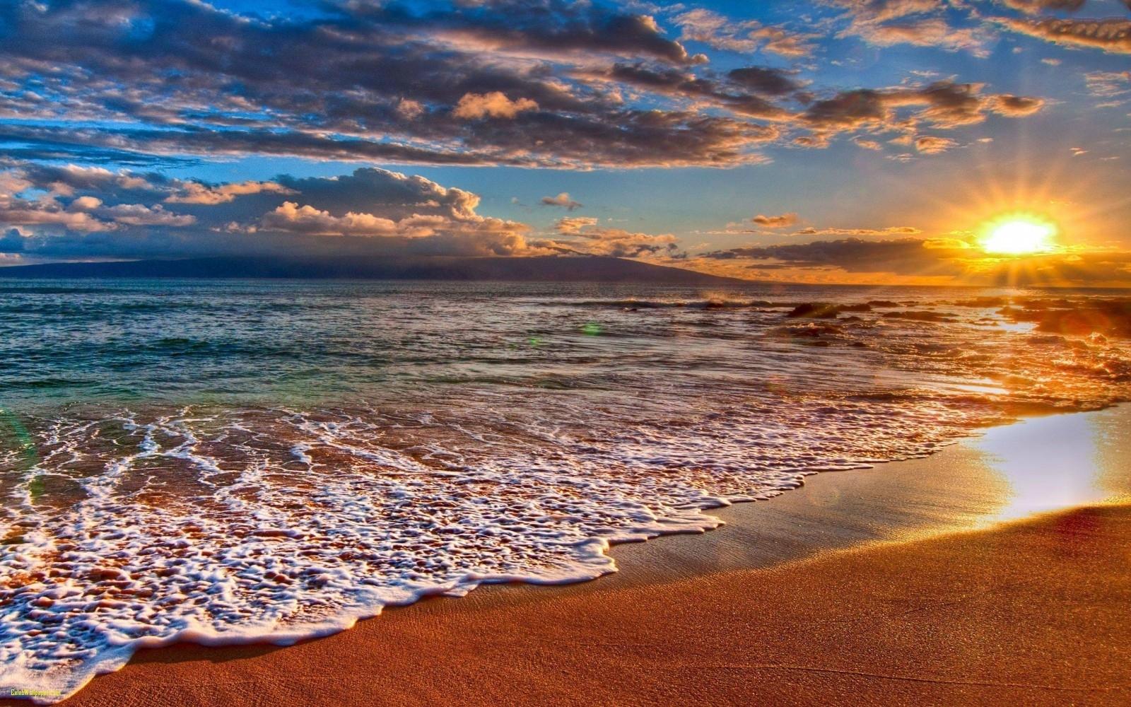 beach sunset wallpaper desktop backgrounds beach sunset wallpaper