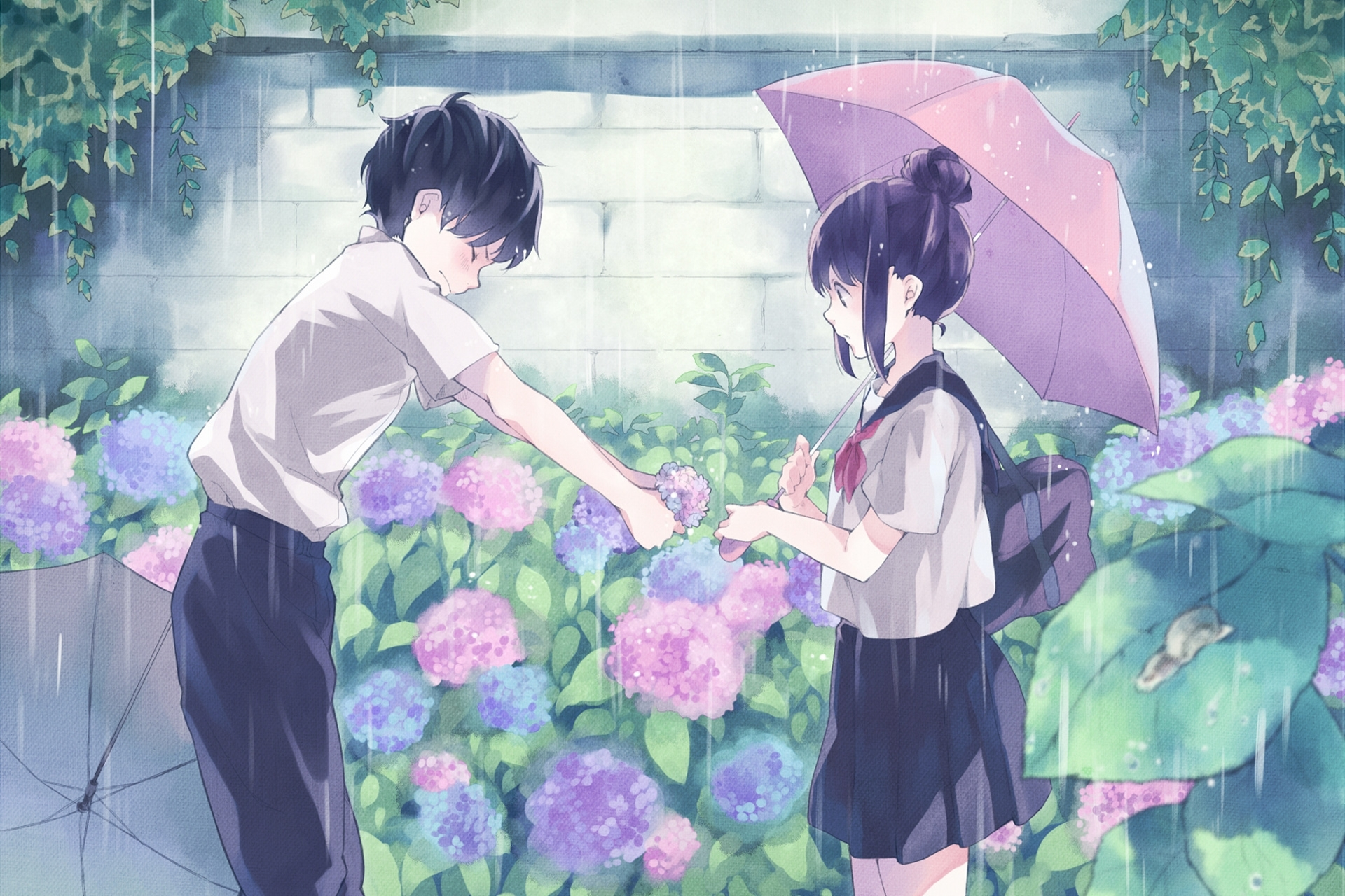 beautiful anime couple wallpaper hd images – one hd wallpaper
