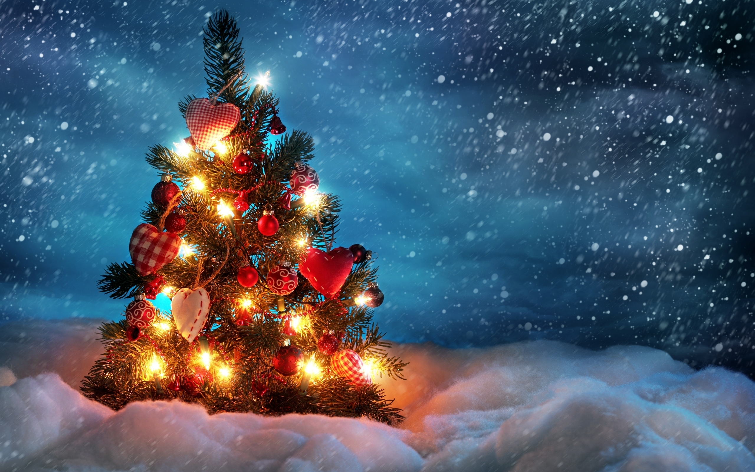 beautiful christmas tree wallpapers | hd wallpapers | id #10584