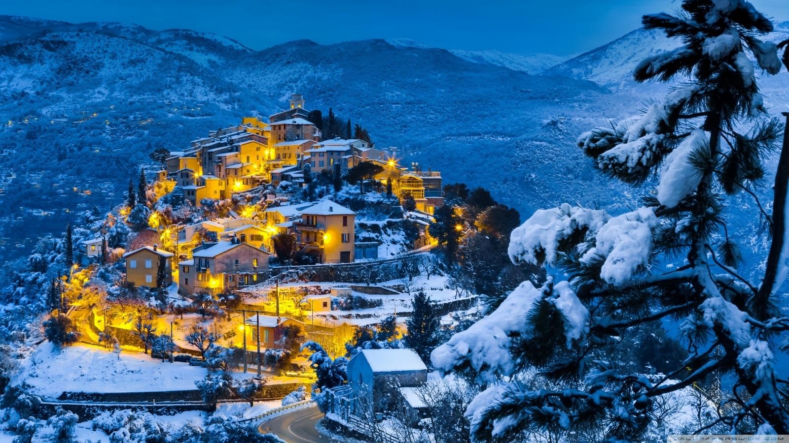 beautiful christmas village ❤ 4k hd desktop wallpaper for 4k ultra