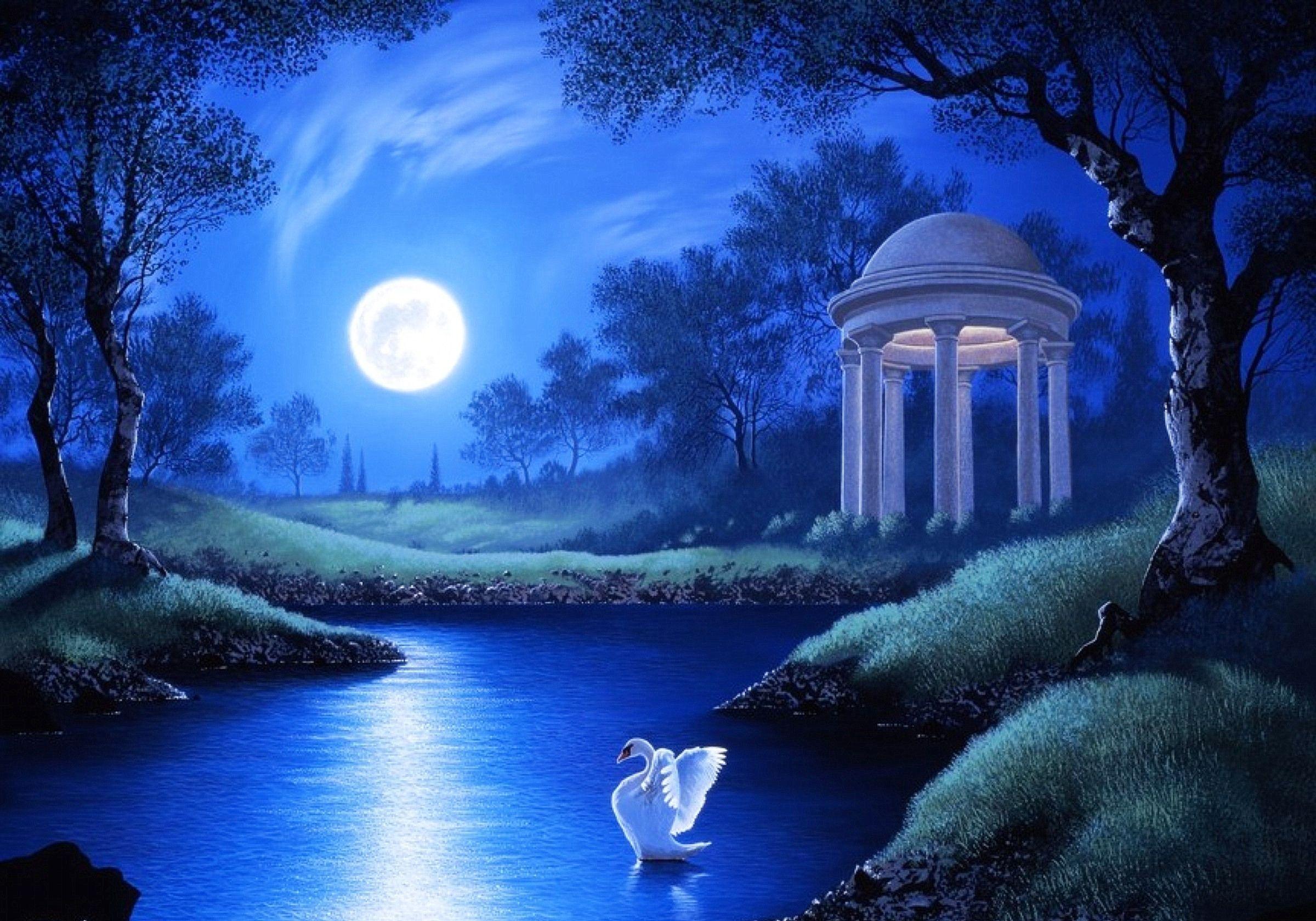 beautiful full moon wallpapers desktop background ~ photograhps
