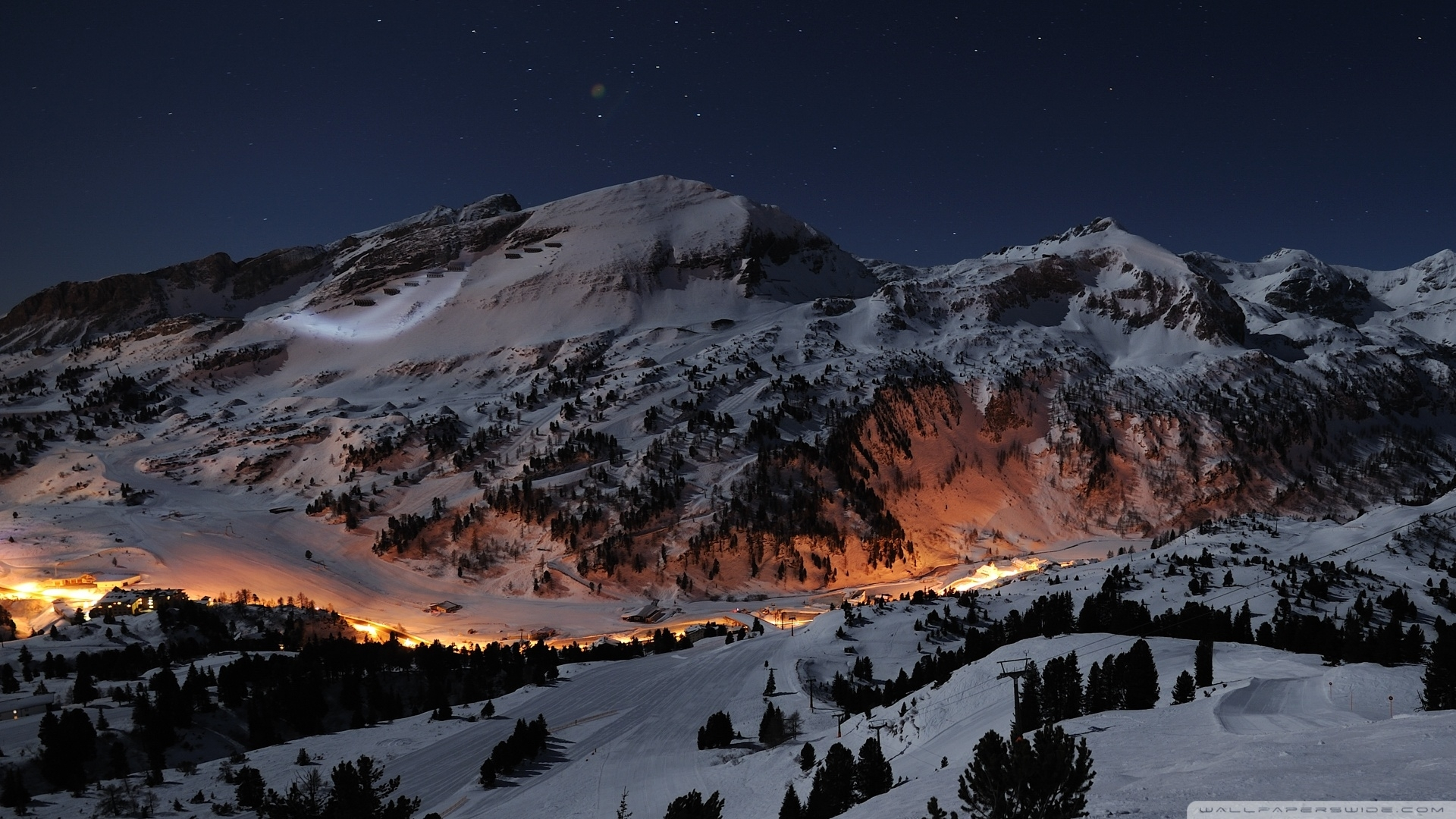 beautiful night winter ❤ 4k hd desktop wallpaper for 4k ultra hd tv
