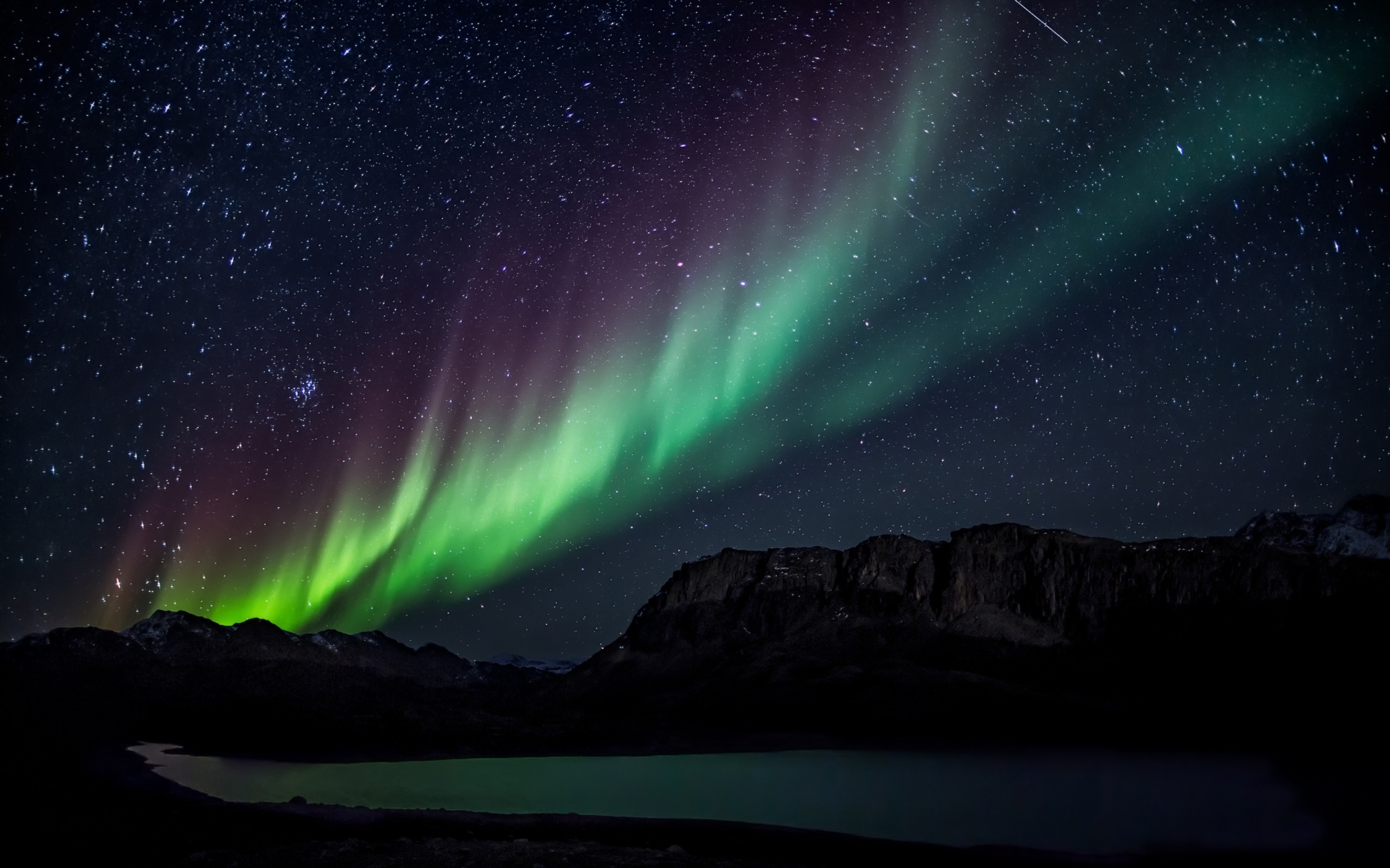beautiful northern lights wallpaper 45402 1920x1200 px