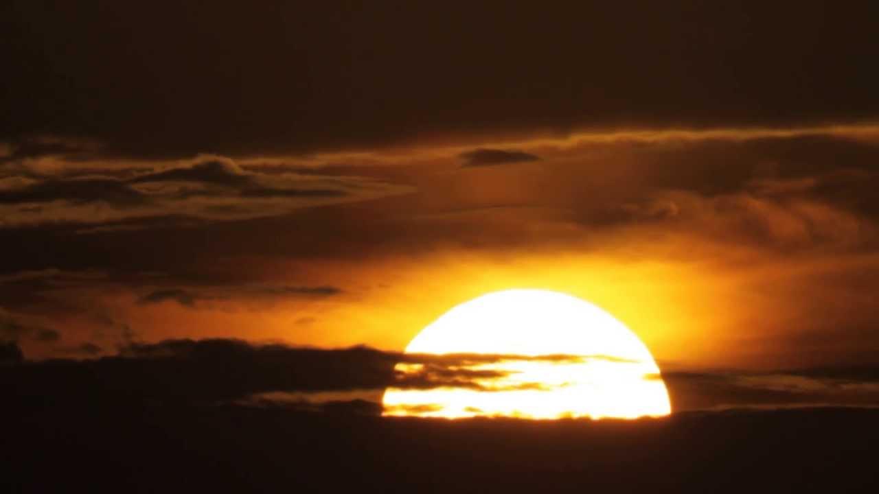 beautiful sunrise - lion king sunrise. rising sun in florida. - youtube