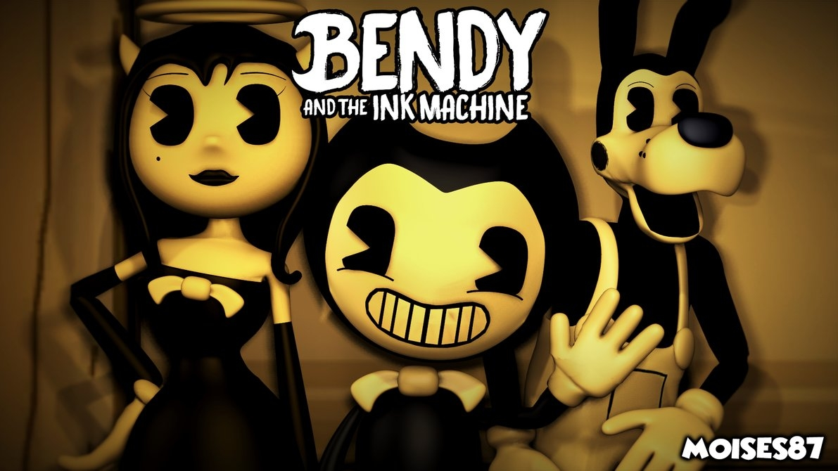 bendy and the ink machine wallpaper [sfm]moises87 on deviantart