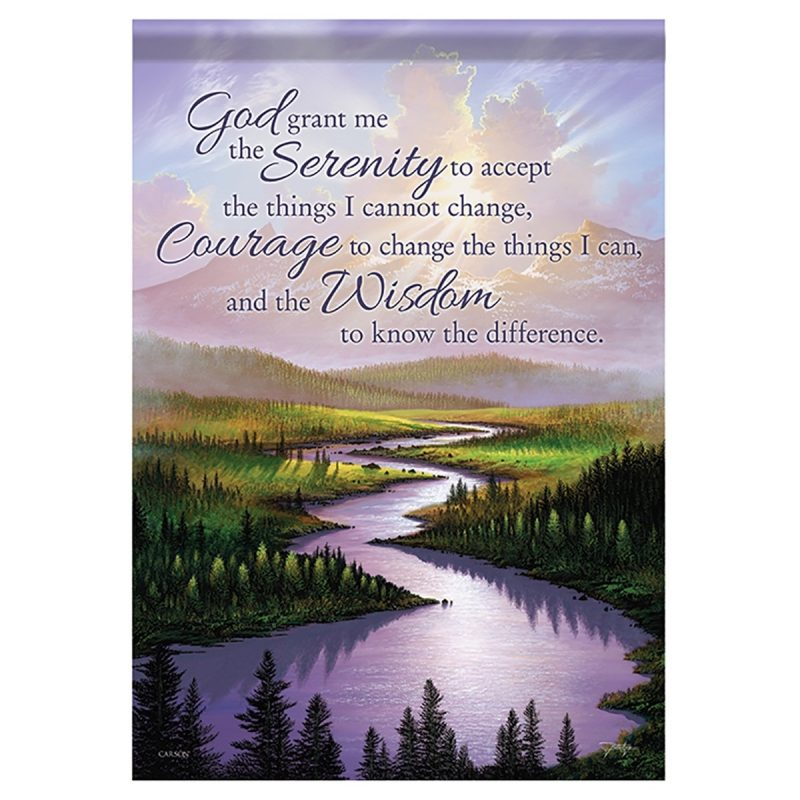 10 Most Popular Prayer Of Serenity Images FULL HD 1080p For PC Desktop 2020 free download bereavement garden flag serenity prayer 800x800